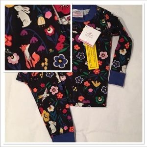 Hanna Andersson Retired Print Holiday Pajamas